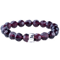 Fastener Grape Quartz Bracelet Sterling Silver Pendants Charms