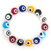 Evil Eyes Bracelets Glass Eye Beads Multicolor Crystal Bracelet Women
