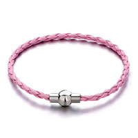 Snake Chains Pink Woven Rope Fit All Brands