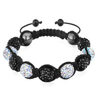 Shamballa Bracelet Alternate Crystal Aurore Boreale Disco Ball