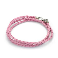 Snake Charms Snake Chains Snake Bracelets Rose Pink Leather Bracelet Bracelets