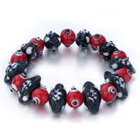 Evil Eyes Bracelets Red Black Glass Eye Beads Evil Bracelet