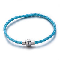 Snake Charms Snake Chains Snake Bracelets Aquamarine Blue Woven Bracelet