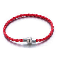 Snake Charms Snake Chains Snake Bracelets Light Red Woven Bracelet