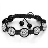 Shambhala Bracelet White Disco Ballgift Women