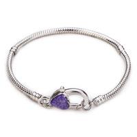 Cactus Silver Tone Bracelet