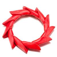 Red Horn Turquoise Bracelets Murano Glass Bracelet