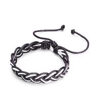 Decorative Brown Leather Bracelet Bracelets