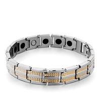 Mens Stainless Steel Bracelets Cuff Bangle Bracelets 18 Links Mens Bracelet