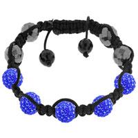 Shamballa Bracelet Unisex Hip Hop Crystal Disco