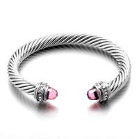 12 Colors Cuff Bangle Bracelets Swarovski Elements Crystal