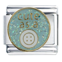 Cute As Button Words Phrases Italian Charm