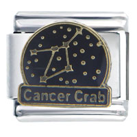 Constellation Cancer Bith Date Italian Charms