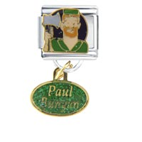 Paul Bunyan Work Leisure Italian Charm Dangle Italian Charm