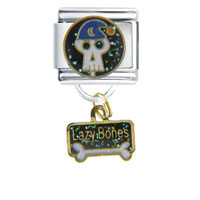 Lazy Bone Dangle Italian Charms
