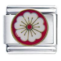 Apple Blossom Birthstones Jewelry Italian Charm Bracelet