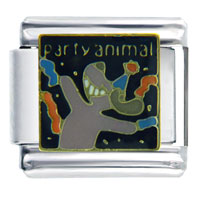Party Animal Dog Italian Charm
