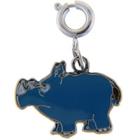 Rhinoceros Link Dangle European Beads Fit All Brands