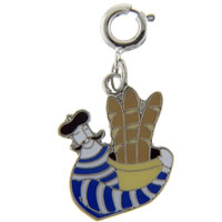 Frenchman Bag Link Dangle European Beads Fit All Brands