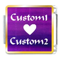 Purple Matrix Custom Gift Ideas Italian Charm