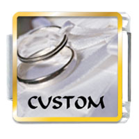 Wedding Ring Custom By Price Italian Charm