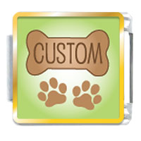Dog Bone Custom By Price Italian Charm