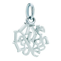 Live Love Laugh Dangle Charm Bead For Charms Bracelet