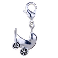 Amore Lavitatm Baby Carrige 925 Sterling Lobster Clasp For Dangle European Beads Fit All Brands