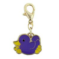 Purple Duck Clasp Charm
