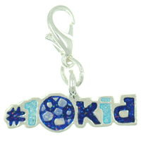 1 Kid Link Dangle European Beads Fit All Brands
