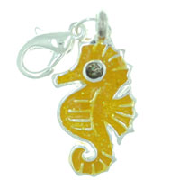 Ocean Seahorse Link Dangle European Beads Fit All Brands