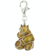 Teddy Bear Link Dangle European Beads Fit All Brands