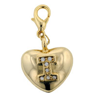 I Heart U Bag Link Dangle European Beads Fit All Brands
