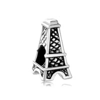 Silver Mothers Day S Eiffel Tower European Bead Charm Bracelet