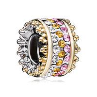 Swarovski Crystal Beads Charm Bracelets Bling Beads Charm Bracelets