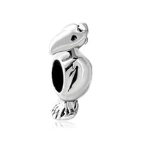 European Bead Charms Witty Parrot European Bead Charms For Women