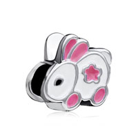 European Bead Charms Little Bunny European Bead Charms For Women