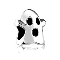 Silver Mothers Day S Halloween Ghost European Bead Charms Bracelets