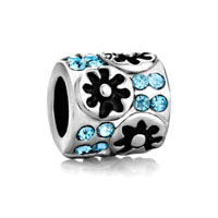Pugster Silver Floral For March Crystal Beads Charms Bracelets Fit All Brands