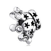 Swarovski Element Crystal Crown European Bead Charms Bracelets