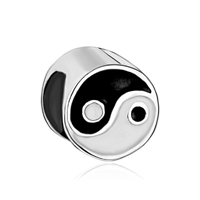 Array Yin Yang 925 Sterling Silver Fit Beads Charms Bracelets All Brands