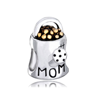 Mom Charms Waterling Flower Pot