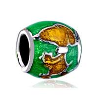 Green Topza Dog Charm Bracelet Gift Charm Beads Charms Bracelet