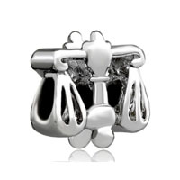 Silver Plated Libra Horoscope Zodiac European Bead Charms Bracelets