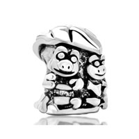 Frogs Leaf European Bead Charms Bracelets Fit All Brands Bracelets