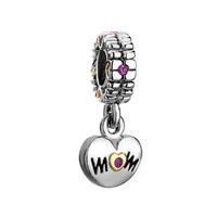 Mom Charms Spacer Dangle Beads