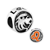 Silver Plated Silver Tone Leo Horoscope Zodiac Lucky Charm Bracelets