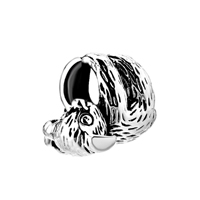 925 Sterling Silver Koala Hugging Christmas Tree Sound Sleep Bead Fit Charm Bracelet