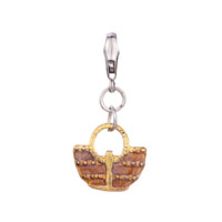 Golden Tourism Woven Bag Gift Fit All Brands Dangle European Beads