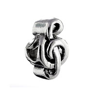 Silver Currency Symbol European Infant Charm Bead Charms Bracelets
